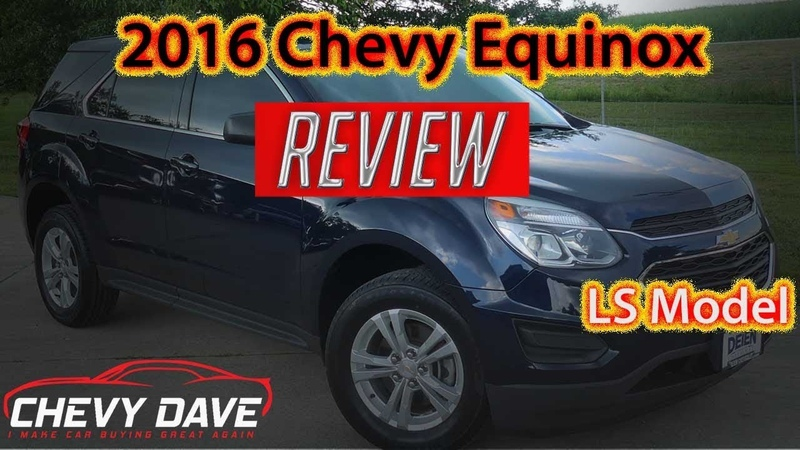 2016 Chevy Equinox LS Review - Equinox LS Model Review - A1392