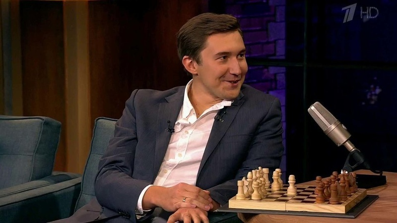 Сергей Карякин – Вечерний Ургант (31.03.2016)
