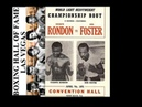 BOB FOSTER STILL LIGHT HEAVYWEIGHT CHAMP WITH KO OF VICENTE RONDON THIS DAY APRIL 7, 1972
