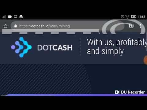 DOTCASH FREE 100 Gh s cloud mining review