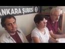 İnsan Hakları Derneği Ankara şubesinde kaçırılmak istenen Hayrullah Narin için yapılan açıklamadayım