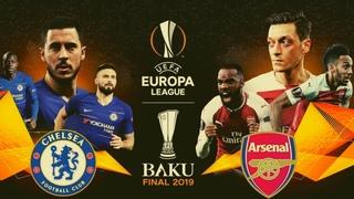 ARSENAL VS CHELSEA EUROPA LEAGUE PROMO - 29TH MAY 2019