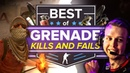 Best CS:GO Grenade Kills, Fails and Funny Moments (HE Dunks, Mollies, Nade Stacks and More)