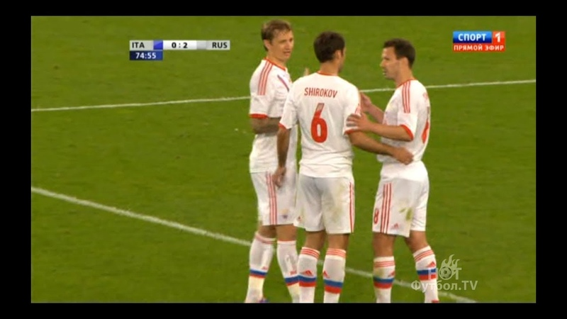 Италия 0-3 Россия. Обзор матча 01.06.2012