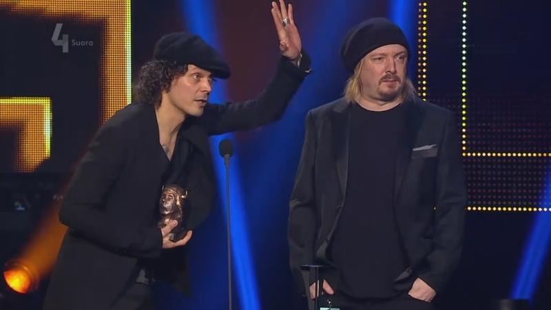 04 02 2017 Ville Valo Ykä Järvinen Video of The Year Emma Gaala