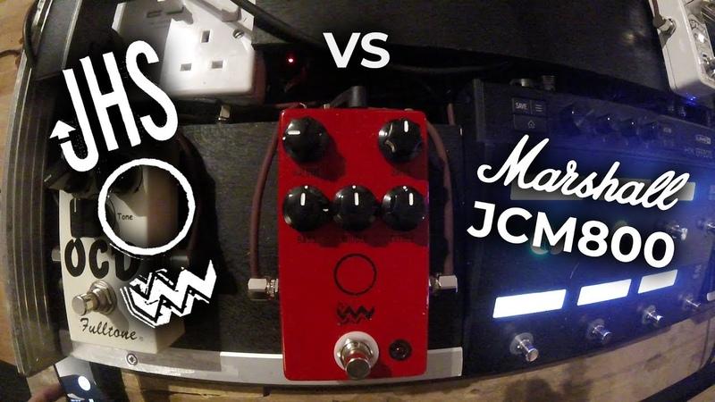 Guitar Comparison JHS ANGRY CHARLIE vs Marshall JCM800