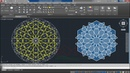 How to draw a Complex Islamic Geometric Pattern with AutoCAD