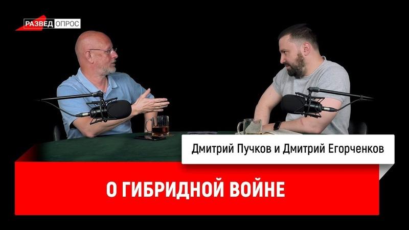 Дмитрий Егорченков о гибридной войне