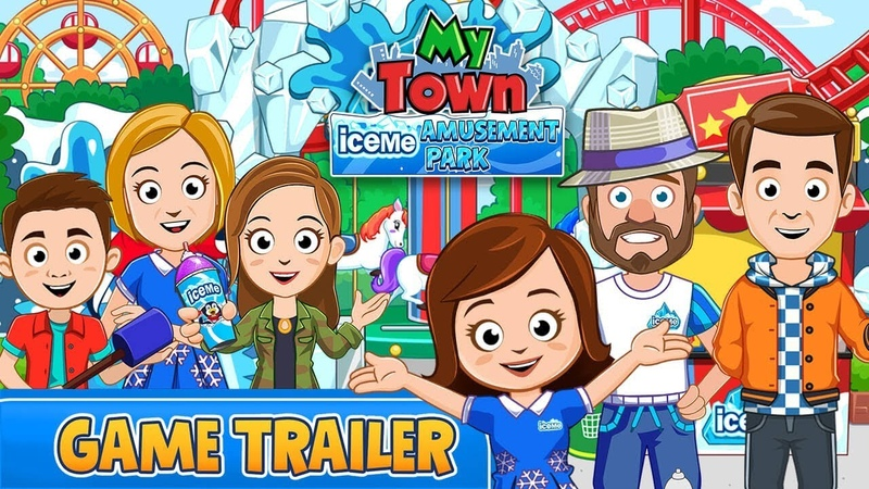 My Town : ICEME Amusement Park - Game Trailer