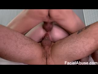 FacialAbuse - Rebel Rhyder (e744 - DP and Double Anal)