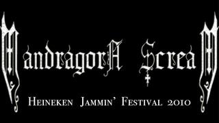 MandragorA   ScreaM  - Live  Concert  Heineken  Jammin'  Festival 2010