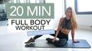 20 MIN FULL BODY WORKOUT No Equipment | Pamela Reif