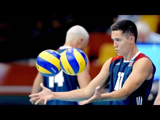 Creative volleyball actions from micah christenson
