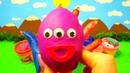 Learn colors Учим цвета с шариками Песня про шарики Открываем Сюрприз Шоколадные Яйца Киндер