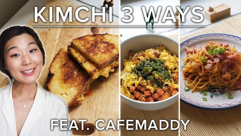 How To Make 3 Different Recipes With Kimchi Tasty