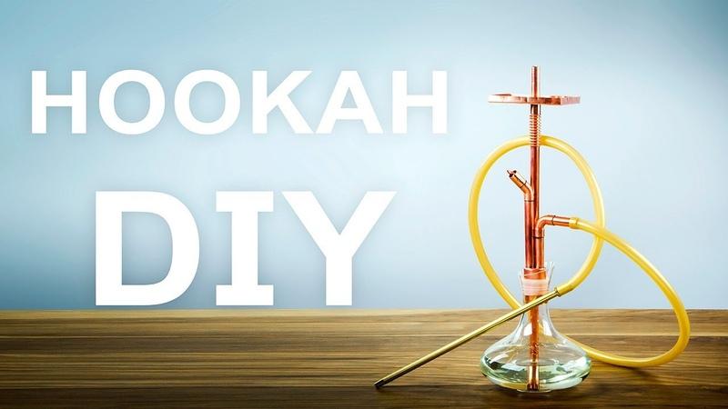 How To Make Copper Hookah DIY
