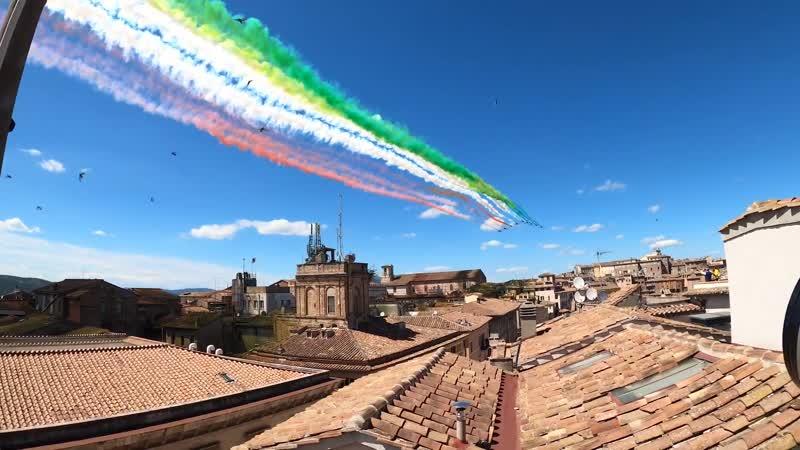 Frecce tricolori a Perugia