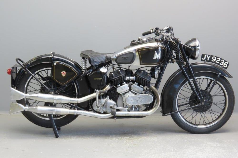 Старинный мотоцикл Matchless 37/X  Sports Tourist 1936
