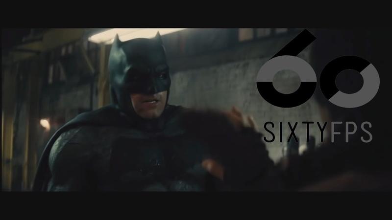 [60FPS] Batman v Superman Ultimate Edition warehouse fight Scene 60FPS HFR HD