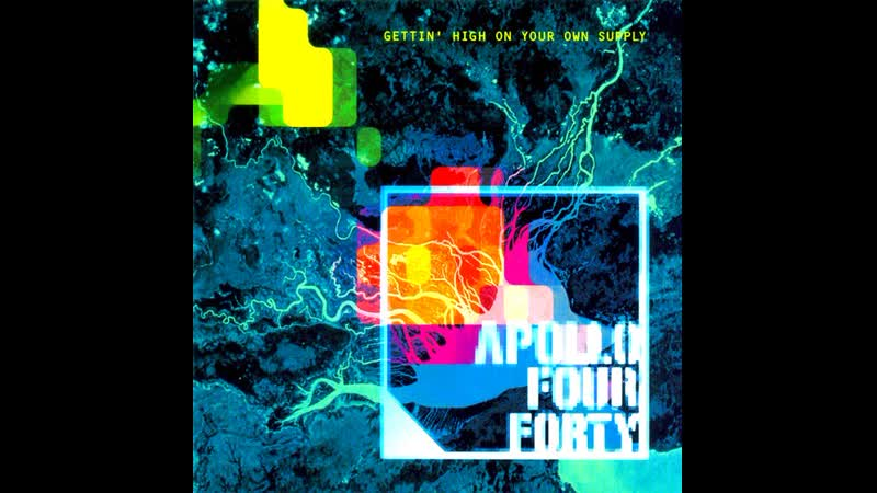 APOLLO 440 - For Forty Days (1999, Sony Music Records L.t.d.)
