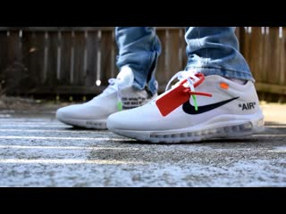 Air max 97 off white review on feet