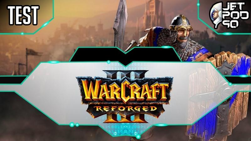 WARCRAFT 3: REFORGED игра от Blizzard. СТРИМ с JetPOD90! Участвую в закрытом бета-тесте, день №2.