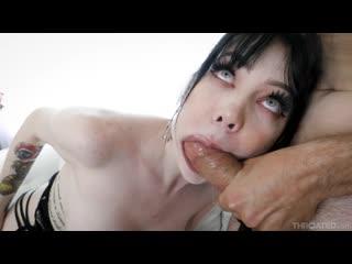 Leda Elizabeth - Goth Throat - Porno, Oral Sex Rough Deepthroat Gagging Face Fuck Hardcore Big Tits Swallow, Porn, Порно