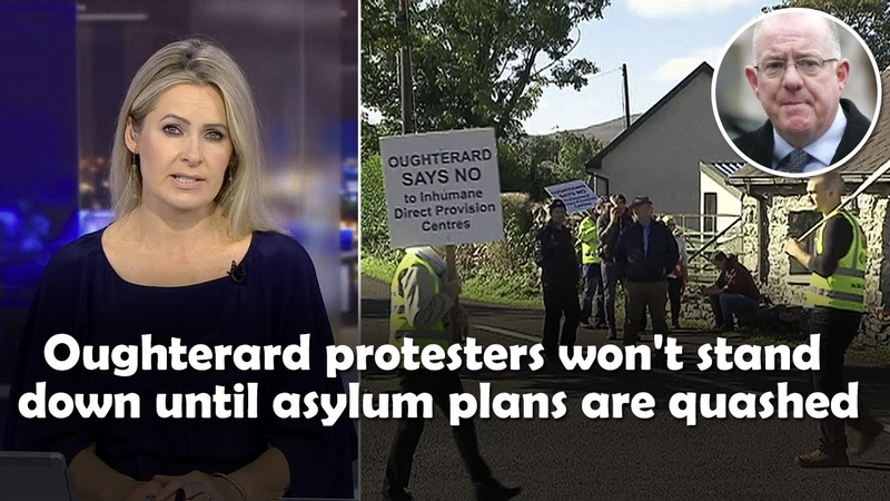 Oughterard protesters won't be moved until asylum plans are quashed
