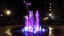 Новый фонтан в сквере Виктора Талалихина