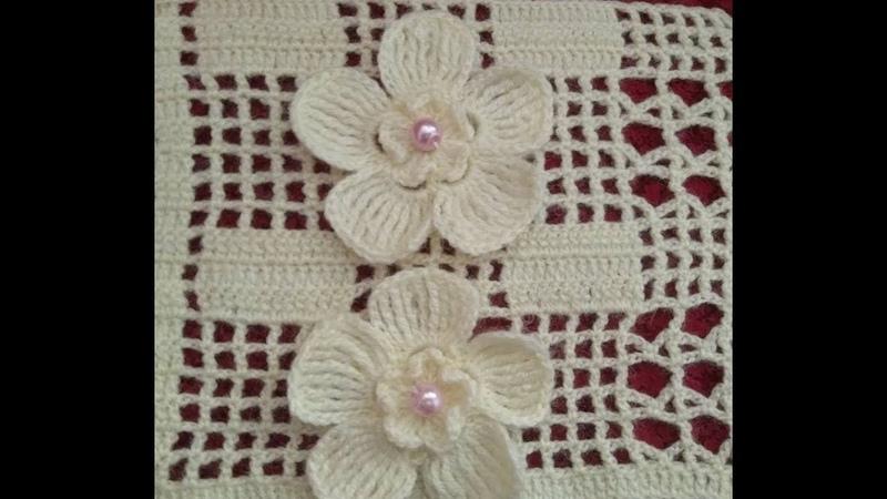 ÇİÇEK BAHÇESİ YELEK YAPILIŞI/Construction of Flower Garden vest