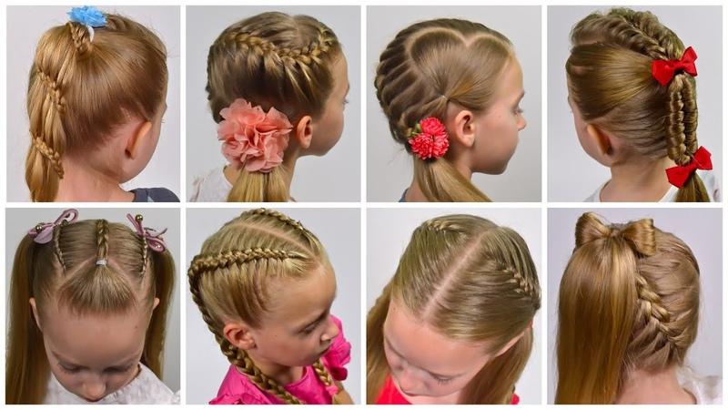 8 Braided Back To School HEATLESS Hairstyles Little girls hairstyles 28 LGH