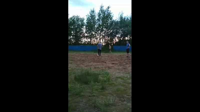 Товарищеский матч жителей мкр.Ручейная и м.Дырнос