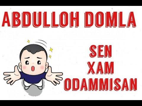 Abdulloh domla-Gunox qilsa xam chiroylik