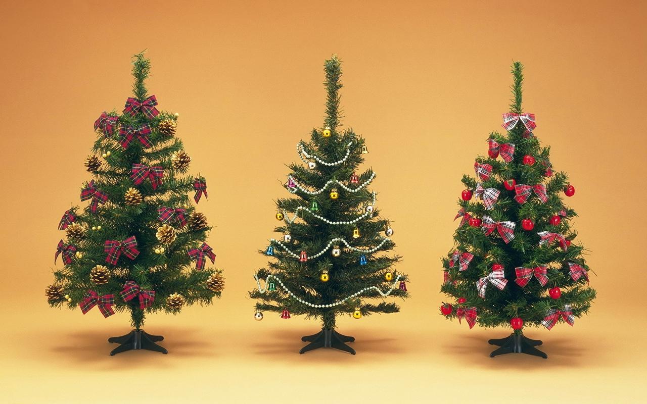 украсить елку новый год