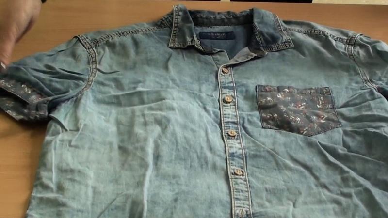 СР36 10 Рубашки джинсовые