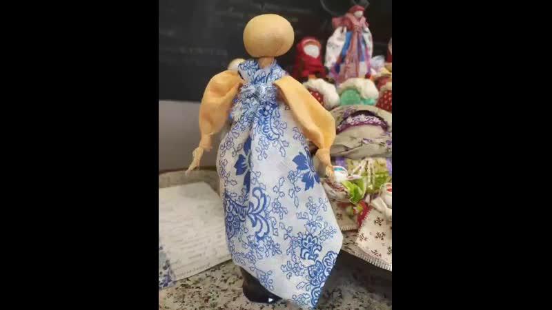 Бессоница мастер класс по традиционной обережной кукле Крестецкий центр народного творчества постигая традиции