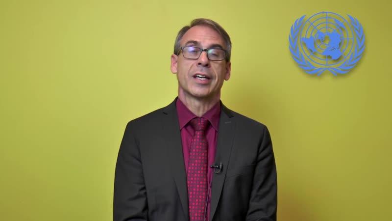 Выступление директора Статистического отдела ООН Стефана Швайнфеста