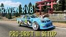 Raven RV8 Pro-Drift III Custom Setup Vauxhall VXR8 Maloo CarX Drift Racing 2