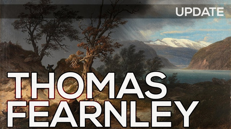 Thomas Fearnley A collection of 83 paintings HD *UPDATE