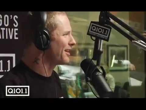 Slipknot Stone Sour's Corey Taylor takes over Q101 WKQX Chicago