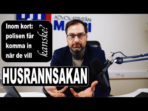 NÄR FÅR POLISEN KOMMA IN