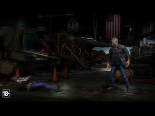 """Игра Mortal Kombat 11 - Русский геймплейный трейлер """"Терминатор Т-800"""""""