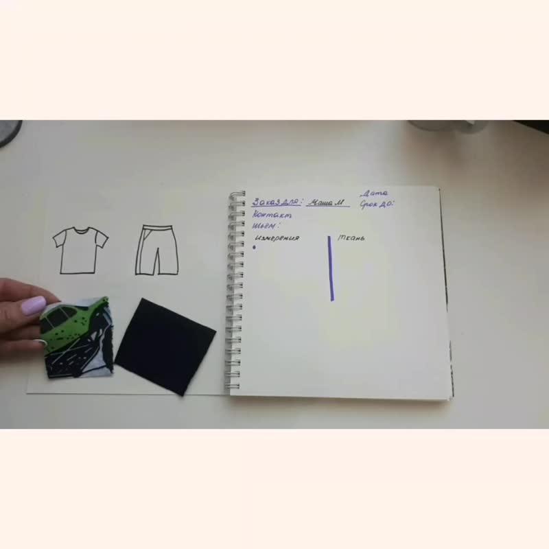 Процесс создания футболки