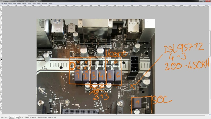PCB Breakdown Asrock 63 phase AM4 VRM used on the AB350M Pro 4, AB350 Pro 4 and AB350 Gaming K4