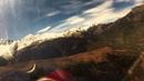 Полет Насти на реактивном L 29 в горах Северного Кавказа