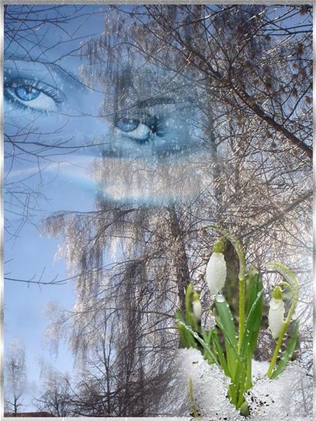 Весна  пугливая шалунья