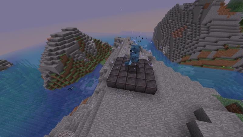 Новый блок из Незерита устойчив к взрывам визера Minecraft