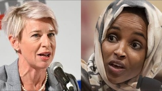 YOU'RE ANTI-AMERICAN FURIOUS KATIE HOPKINS EXPLODES ON ILHAN OMAR SHE COULDN'T BELIEVE HER EYES