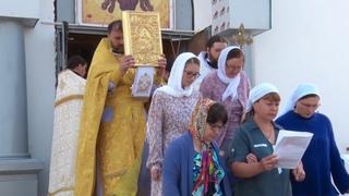 Освещение храма святого праведного война Феодора Санаксарского Ушакова (События недели)