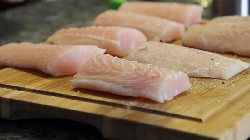 Рыба в хрустящей панировке в духовке. Ун...льчики оближешь -1